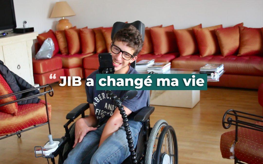 domotique handicap moteur pas cher - jib rend autonome les plus dépendants grâce à une solution simple et accessible