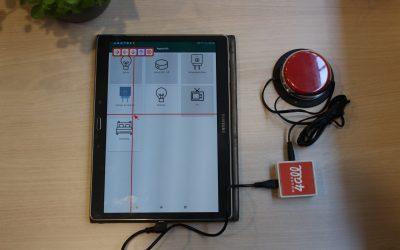 [CONSEILS] Connecter son contacteur à son smartphone ou sa tablette (Android) avec Mouse4All Box !