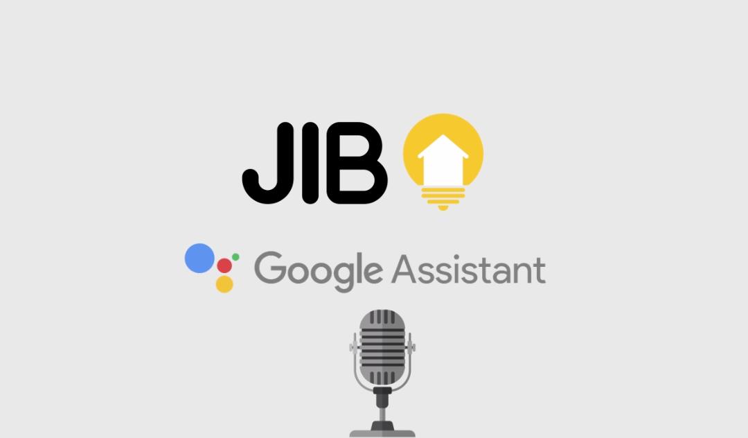 Logo jib et google assistant