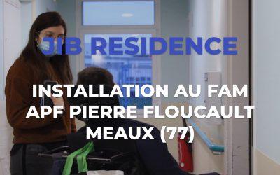 [JIB] Installation domotique avec JIB RESIDENCE à la résidence APF Pierre Floucault de Meaux (77)